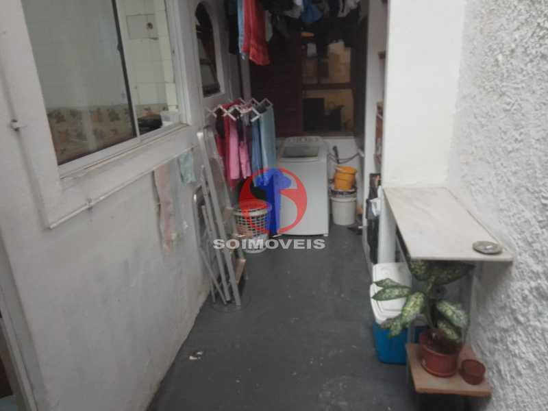 Área de Serviço - Casa de Vila 1 quarto à venda Vila Isabel, Rio de Janeiro - R$ 350.000 - TJCV10019 - 21