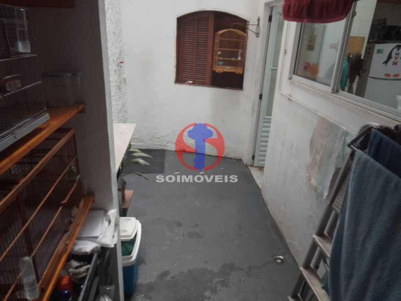 Área de Serviço - Casa de Vila 1 quarto à venda Vila Isabel, Rio de Janeiro - R$ 350.000 - TJCV10019 - 20