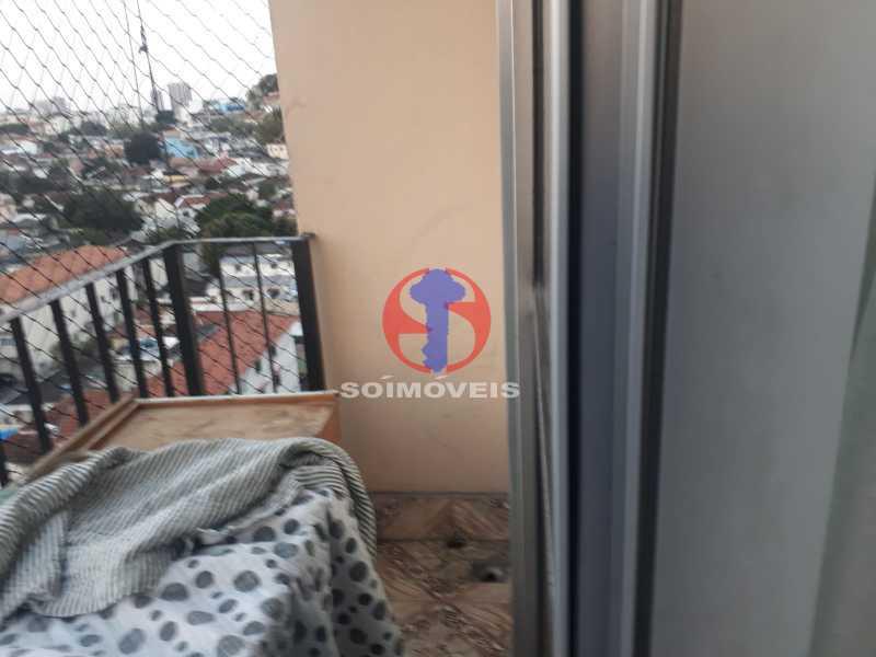 Varanda - Apartamento 2 quartos à venda Engenho de Dentro, Rio de Janeiro - R$ 320.000 - TJAP21617 - 3