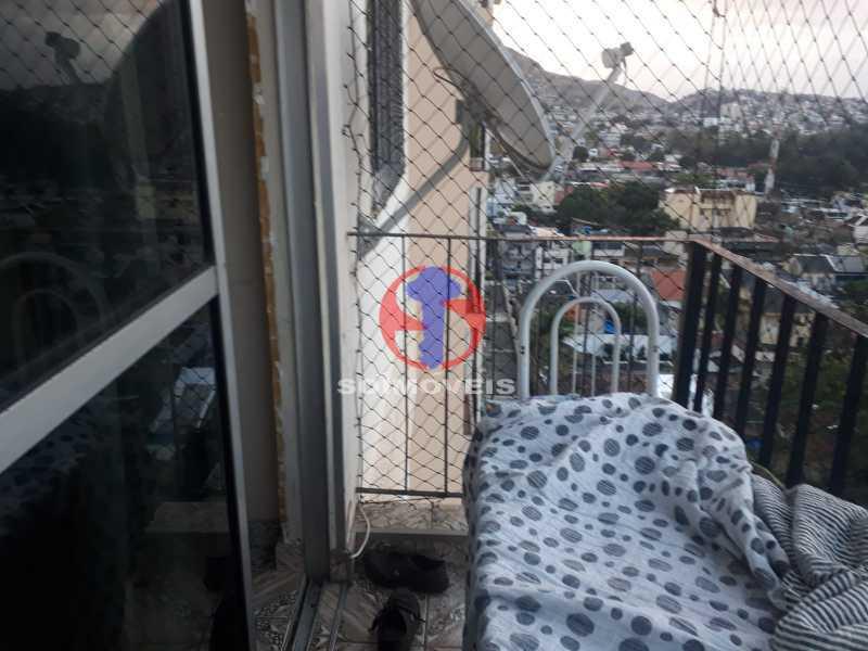 Varanda - Apartamento 2 quartos à venda Engenho de Dentro, Rio de Janeiro - R$ 320.000 - TJAP21617 - 4