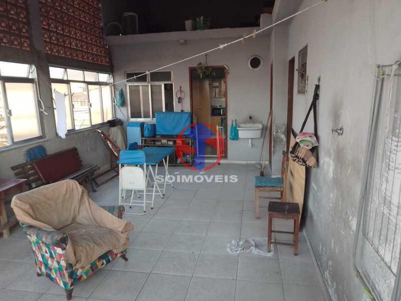 Terraço - Casa 2 quartos à venda Engenho de Dentro, Rio de Janeiro - R$ 299.000 - TJCA20066 - 4