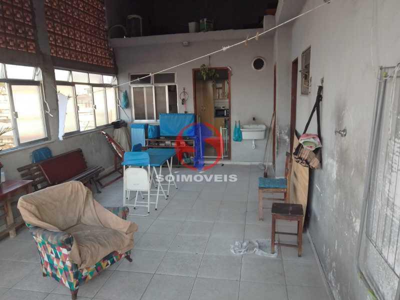 Terraço - Casa 2 quartos à venda Engenho de Dentro, Rio de Janeiro - R$ 299.000 - TJCA20066 - 5