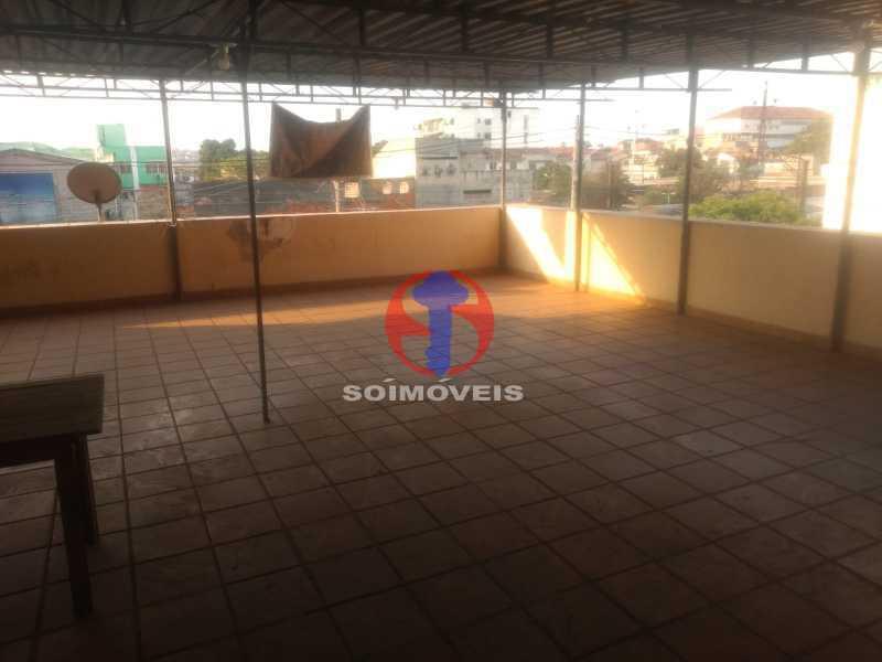 TERRAÇO - Casa 3 quartos à venda Engenho Novo, Rio de Janeiro - R$ 550.000 - TJCA30092 - 23