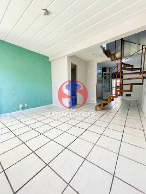 Sala de Estar - Casa de Vila 2 quartos à venda Engenho de Dentro, Rio de Janeiro - R$ 330.000 - TJCV20119 - 4