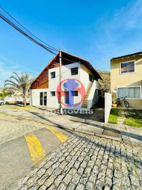Frente - Casa de Vila 2 quartos à venda Engenho de Dentro, Rio de Janeiro - R$ 330.000 - TJCV20119 - 1