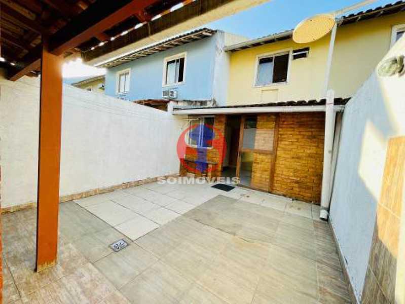 Varanda c Área gourmet - Casa de Vila 2 quartos à venda Engenho de Dentro, Rio de Janeiro - R$ 330.000 - TJCV20119 - 21