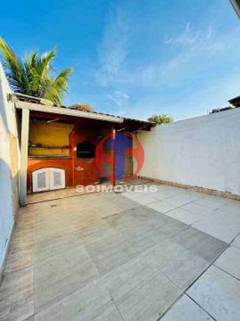 Varanda c Área gourmet - Casa de Vila 2 quartos à venda Engenho de Dentro, Rio de Janeiro - R$ 330.000 - TJCV20119 - 22
