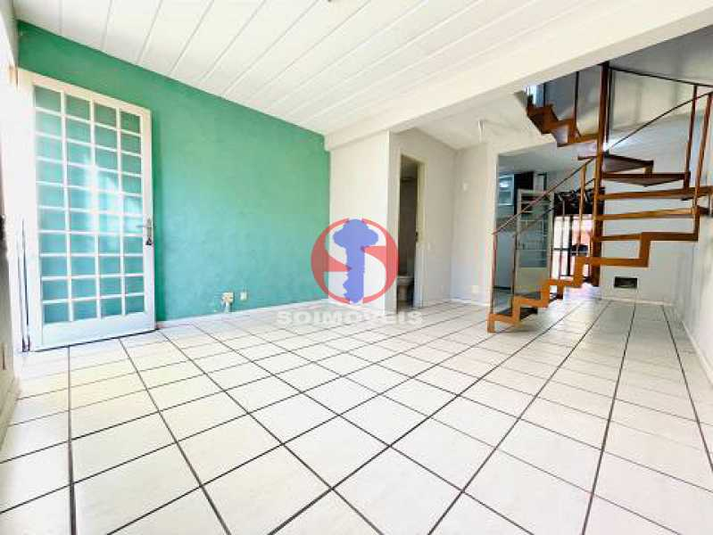 Sala de Estar - Casa de Vila 2 quartos à venda Engenho de Dentro, Rio de Janeiro - R$ 330.000 - TJCV20119 - 3