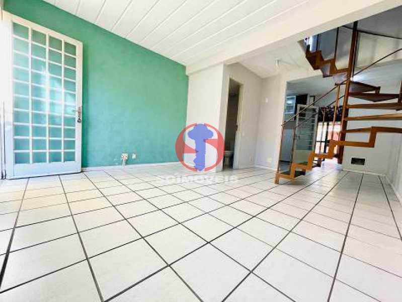 Sala de Estar - Casa de Vila 2 quartos à venda Engenho de Dentro, Rio de Janeiro - R$ 330.000 - TJCV20119 - 5