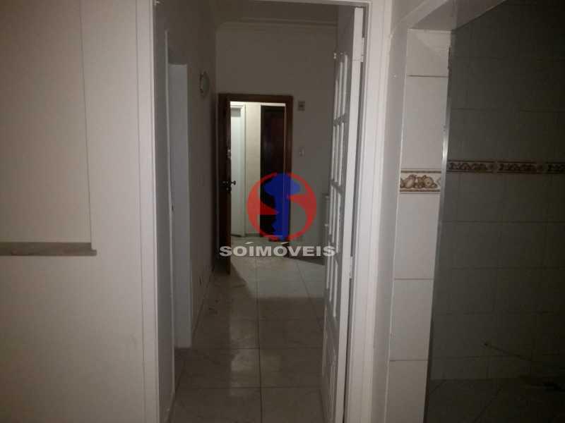 Corredor - Apartamento 1 quarto para venda e aluguel Tijuca, Rio de Janeiro - R$ 300.000 - TJAP10368 - 4