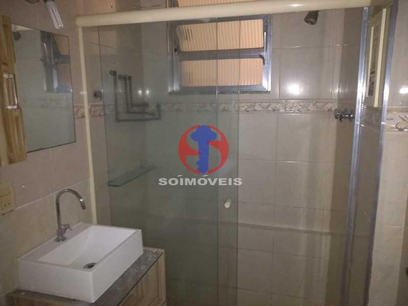 Banheiro Suíte - Apartamento 1 quarto para venda e aluguel Tijuca, Rio de Janeiro - R$ 300.000 - TJAP10368 - 13