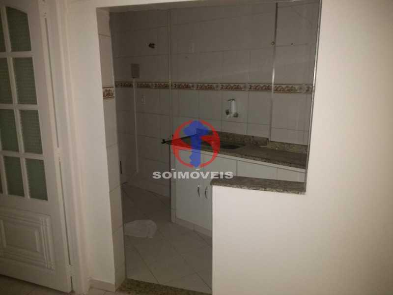 Cozinha - Apartamento 1 quarto para venda e aluguel Tijuca, Rio de Janeiro - R$ 300.000 - TJAP10368 - 16