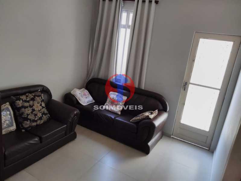 Sala - Casa 7 quartos à venda Grajaú, Rio de Janeiro - R$ 740.000 - TJCA70007 - 3