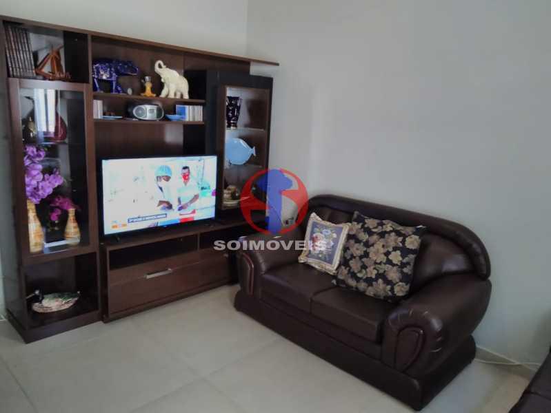 Sala - Casa 7 quartos à venda Grajaú, Rio de Janeiro - R$ 740.000 - TJCA70007 - 4