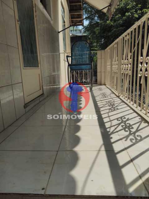 Varanda - Casa 7 quartos à venda Grajaú, Rio de Janeiro - R$ 740.000 - TJCA70007 - 29