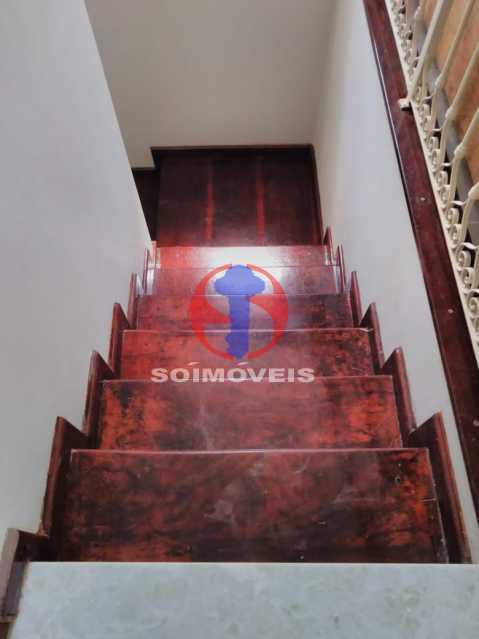 Escada do Segundo Anda - Casa 7 quartos à venda Grajaú, Rio de Janeiro - R$ 740.000 - TJCA70007 - 15