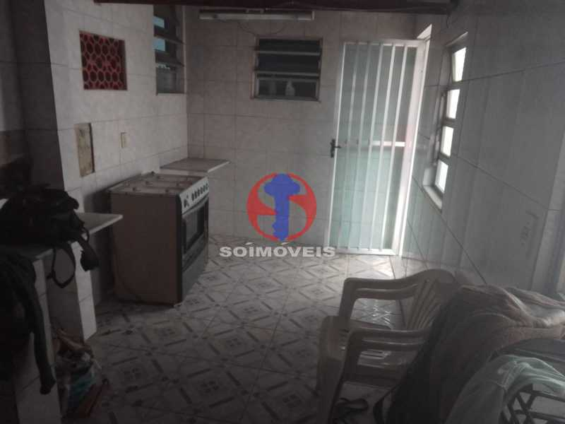 salão de festa/cozinha - Apartamento 3 quartos à venda Engenho de Dentro, Rio de Janeiro - R$ 370.000 - TJAP30810 - 27