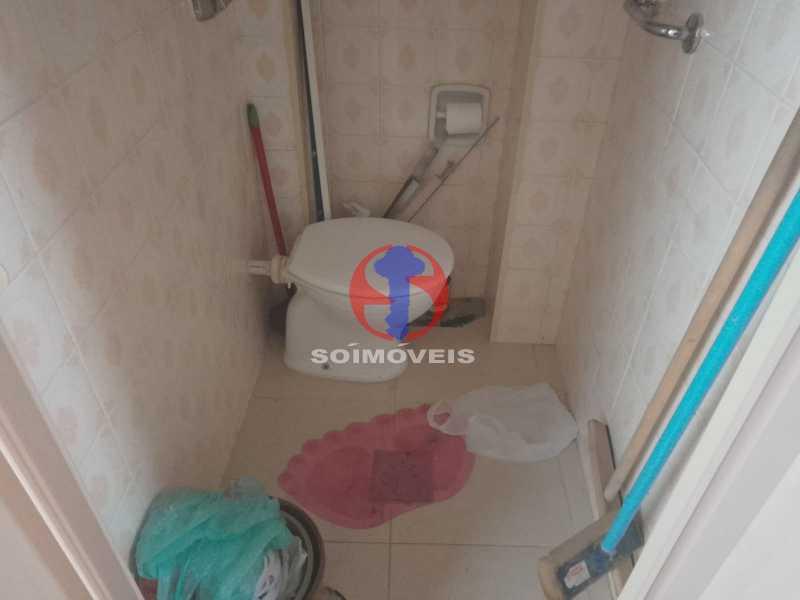 Banheiro de Seviço - Apartamento 3 quartos à venda Engenho de Dentro, Rio de Janeiro - R$ 370.000 - TJAP30810 - 24