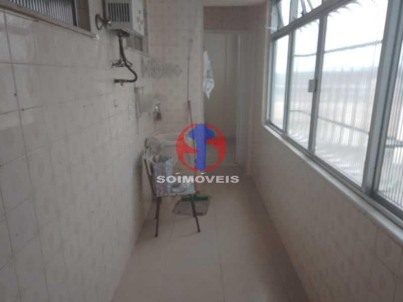 Área de Serviço - Apartamento 3 quartos à venda Engenho de Dentro, Rio de Janeiro - R$ 370.000 - TJAP30810 - 23