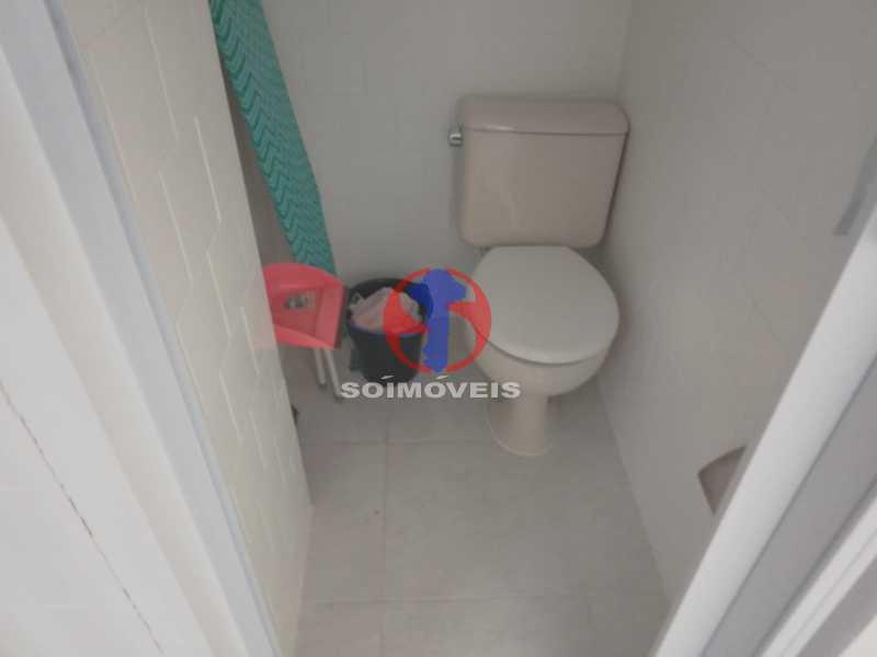 Banheiro De Serviço - Apartamento 2 quartos à venda Engenho de Dentro, Rio de Janeiro - R$ 305.000 - TJAP21651 - 26