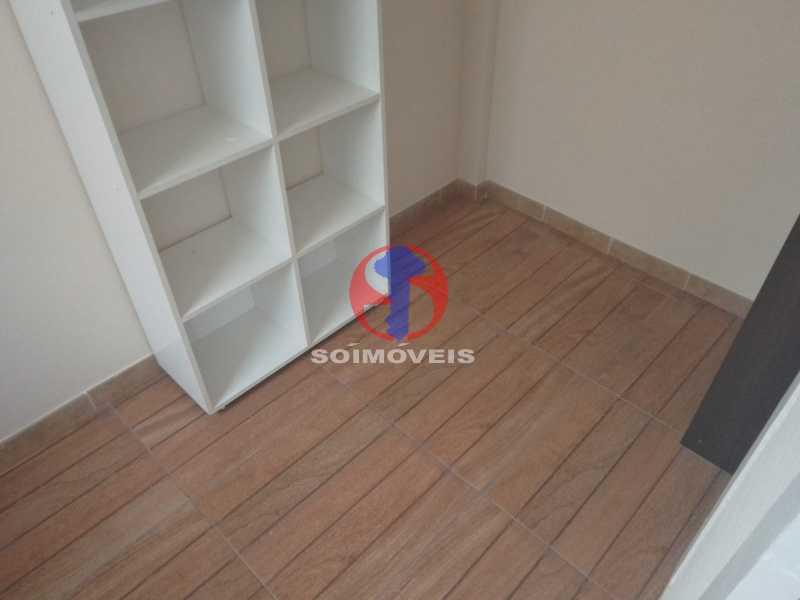 Quarto De Serviço - Apartamento 2 quartos à venda Engenho de Dentro, Rio de Janeiro - R$ 305.000 - TJAP21651 - 23