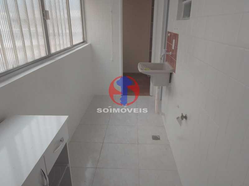 Área De Serviço - Apartamento 2 quartos à venda Engenho de Dentro, Rio de Janeiro - R$ 305.000 - TJAP21651 - 24