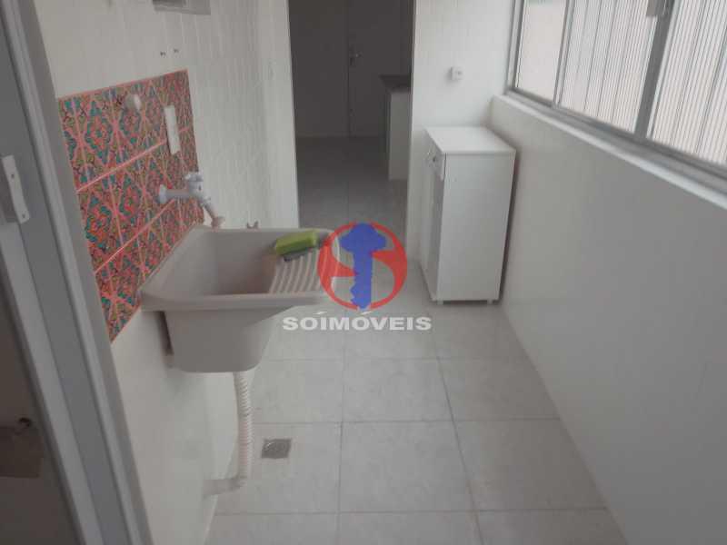 Área De Serviço - Apartamento 2 quartos à venda Engenho de Dentro, Rio de Janeiro - R$ 305.000 - TJAP21651 - 25