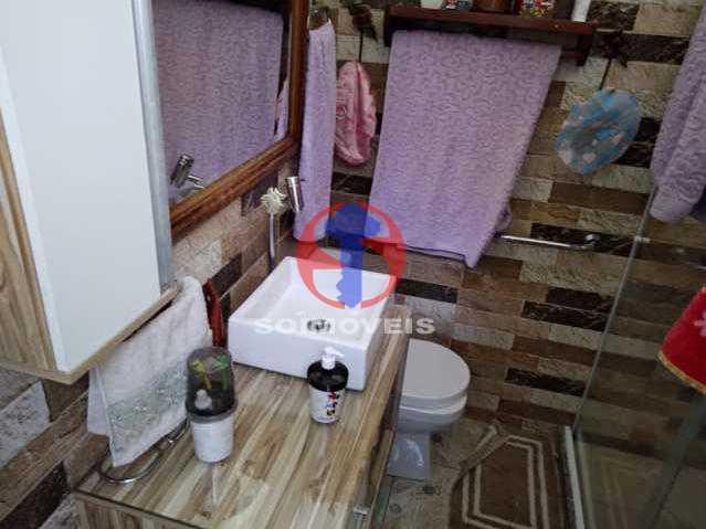 WC - Casa 4 quartos à venda Grajaú, Rio de Janeiro - R$ 680.000 - TJCA40061 - 18