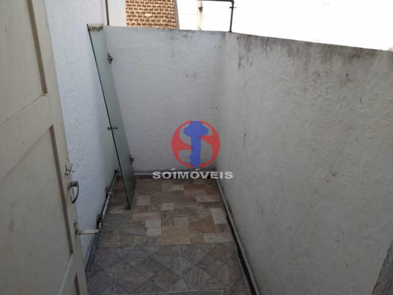 VARANDA 2° ANDAR - Casa 4 quartos à venda Grajaú, Rio de Janeiro - R$ 680.000 - TJCA40061 - 24