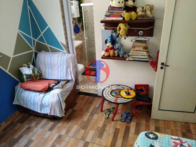 SUÍTE - Casa 4 quartos à venda Grajaú, Rio de Janeiro - R$ 680.000 - TJCA40061 - 11