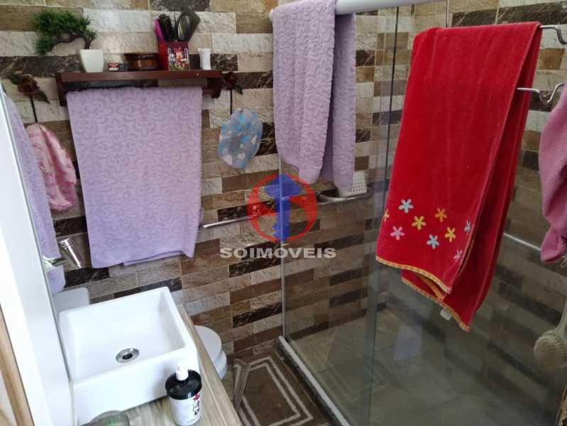 WC - Casa 4 quartos à venda Grajaú, Rio de Janeiro - R$ 680.000 - TJCA40061 - 19