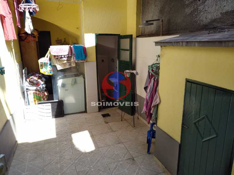 QUINTAL/ LAVANDERIA - Casa 4 quartos à venda Grajaú, Rio de Janeiro - R$ 680.000 - TJCA40061 - 20