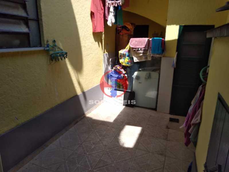 QUINTAL/ LAVANDERIA - Casa 4 quartos à venda Grajaú, Rio de Janeiro - R$ 680.000 - TJCA40061 - 21