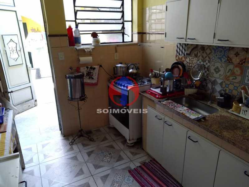 COZINHA - Casa 4 quartos à venda Grajaú, Rio de Janeiro - R$ 680.000 - TJCA40061 - 7