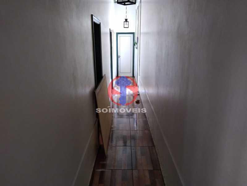 CIRCULAÇÃO - Casa 4 quartos à venda Grajaú, Rio de Janeiro - R$ 680.000 - TJCA40061 - 15
