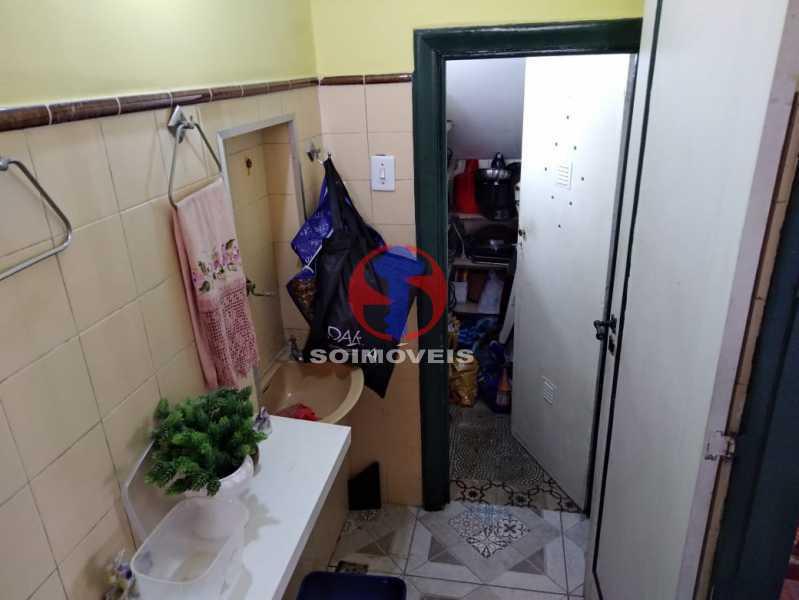 LAVABO - Casa 4 quartos à venda Grajaú, Rio de Janeiro - R$ 680.000 - TJCA40061 - 8