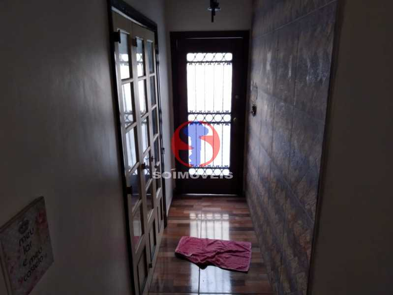 CIRCULAÇÃO - Casa 4 quartos à venda Grajaú, Rio de Janeiro - R$ 680.000 - TJCA40061 - 9
