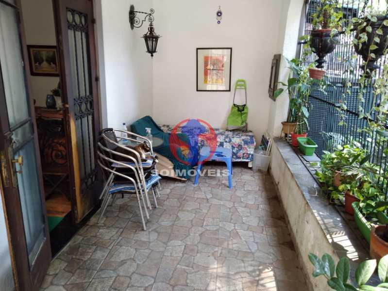 VARANDA - Casa 4 quartos à venda Grajaú, Rio de Janeiro - R$ 680.000 - TJCA40061 - 27