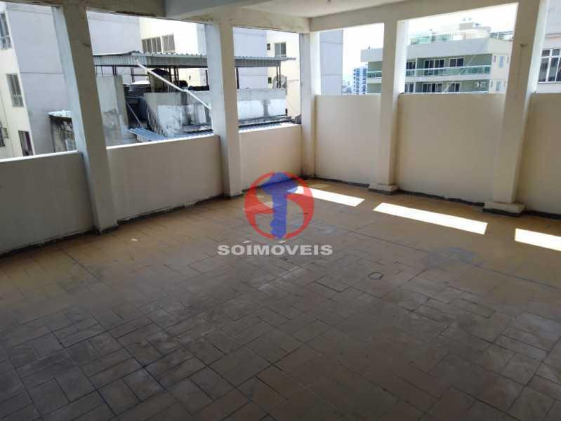TERRAÇO - Casa de Vila 4 quartos à venda Méier, Rio de Janeiro - R$ 670.000 - TJCV40029 - 26