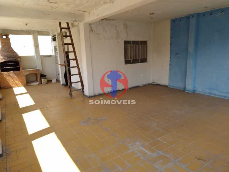 TERRAÇO - Casa de Vila 4 quartos à venda Méier, Rio de Janeiro - R$ 670.000 - TJCV40029 - 25