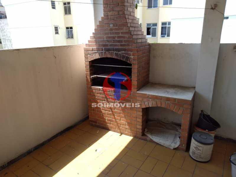 CHURRASQUIRA - Casa de Vila 4 quartos à venda Méier, Rio de Janeiro - R$ 670.000 - TJCV40029 - 27