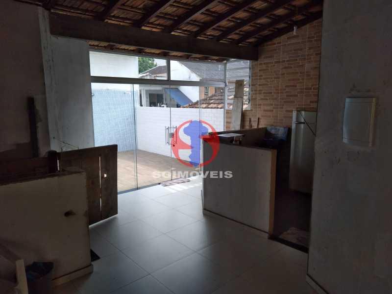 TERRAÇO - Casa 4 quartos à venda Grajaú, Rio de Janeiro - R$ 1.100.000 - TJCA40065 - 9