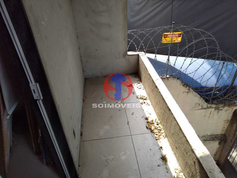 VARANDA - Casa 4 quartos à venda Grajaú, Rio de Janeiro - R$ 1.100.000 - TJCA40065 - 12