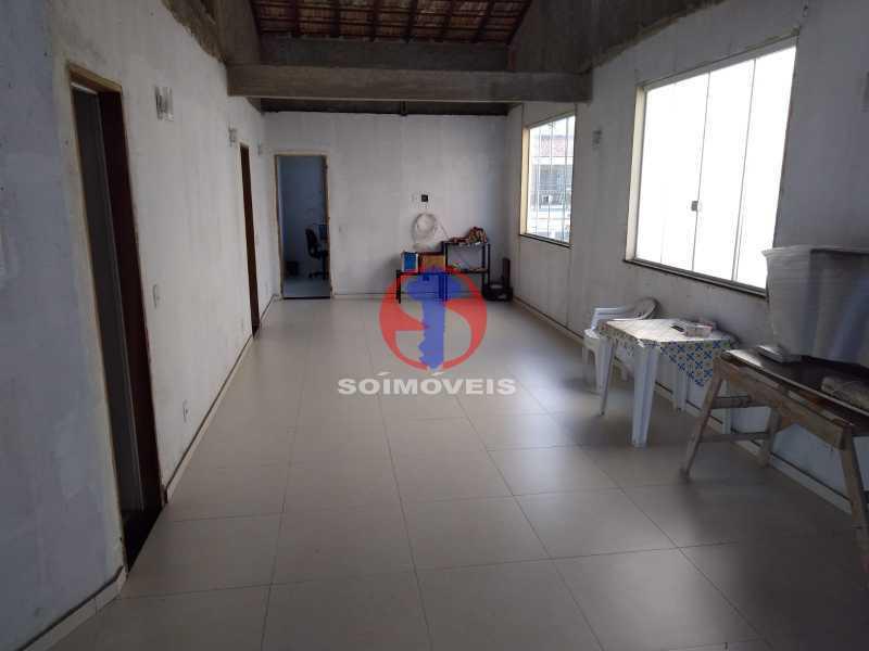 TERRAÇO - Casa 4 quartos à venda Grajaú, Rio de Janeiro - R$ 1.100.000 - TJCA40065 - 15