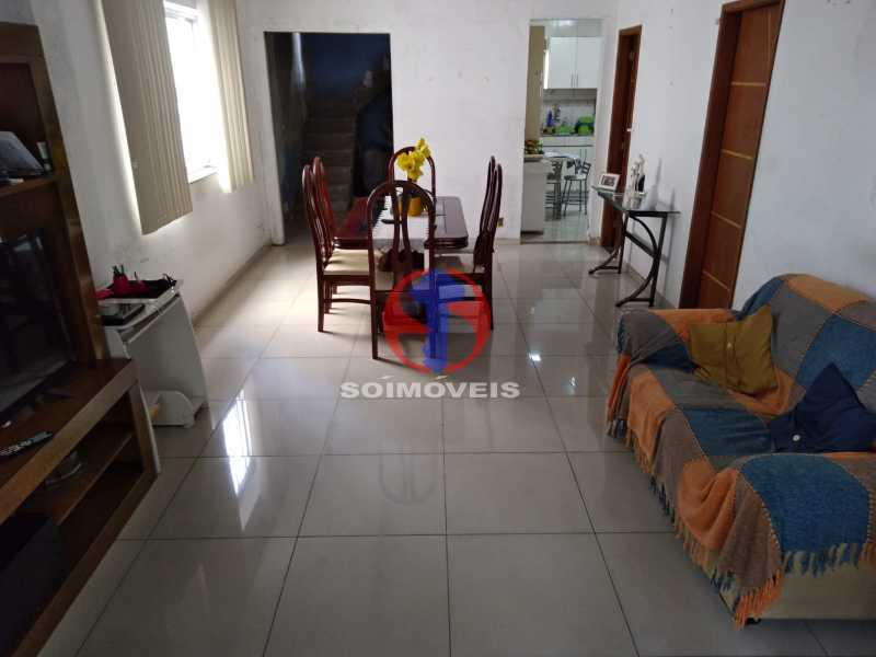 SALA - Casa 4 quartos à venda Grajaú, Rio de Janeiro - R$ 1.100.000 - TJCA40065 - 1
