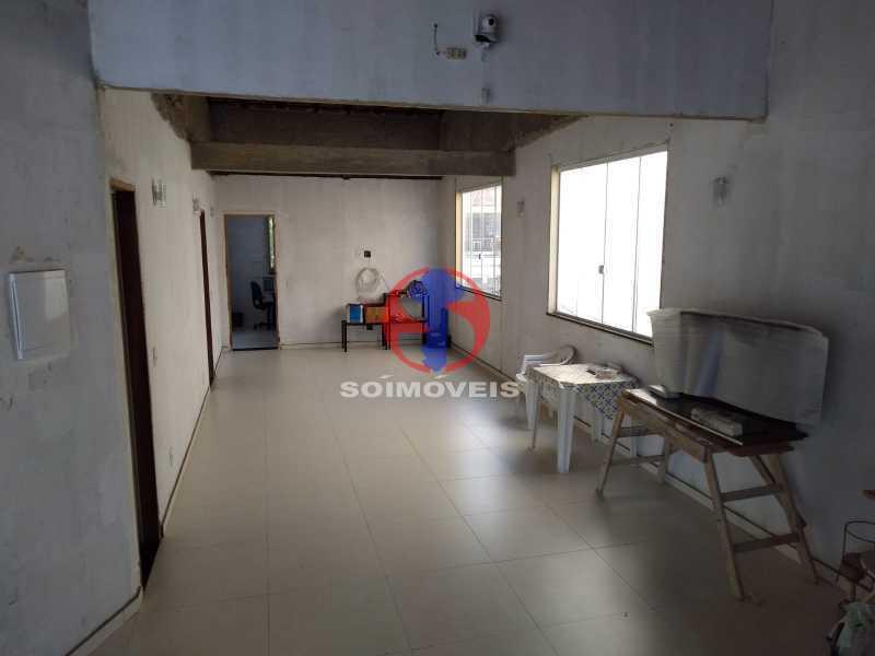 TERRAÇO - Casa 4 quartos à venda Grajaú, Rio de Janeiro - R$ 1.100.000 - TJCA40065 - 16