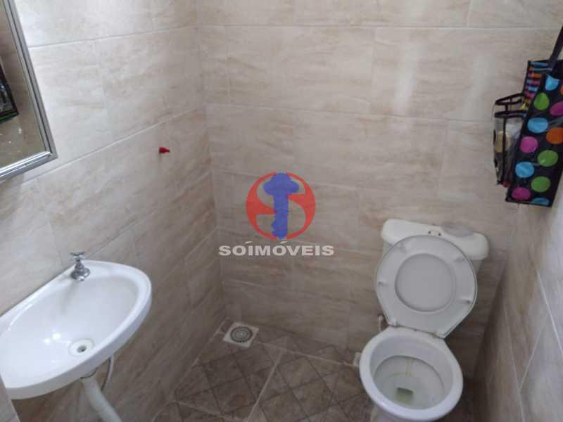WC AUX - Casa 4 quartos à venda Grajaú, Rio de Janeiro - R$ 1.100.000 - TJCA40065 - 17