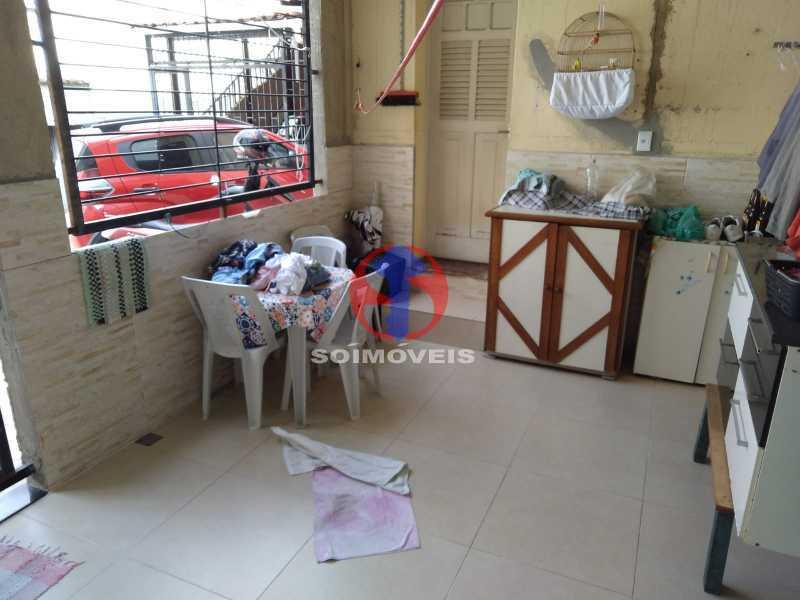 ÁREA - Casa 4 quartos à venda Grajaú, Rio de Janeiro - R$ 1.100.000 - TJCA40065 - 18
