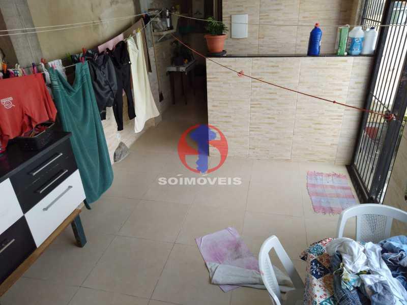 ÁREA - Casa 4 quartos à venda Grajaú, Rio de Janeiro - R$ 1.100.000 - TJCA40065 - 25