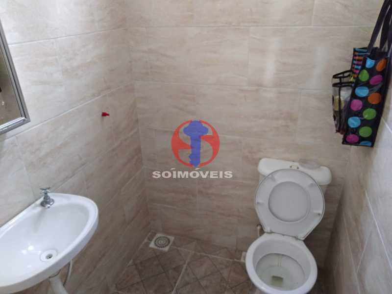 WC AUX - Casa 4 quartos à venda Grajaú, Rio de Janeiro - R$ 1.100.000 - TJCA40065 - 28